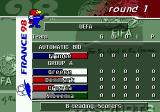 FIFA 98: Road to World Cup Genesis UEFA cup standings