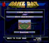 Frank Thomas Big Hurt Baseball SNES Before the game begins...