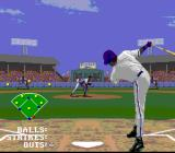 Frank Thomas Big Hurt Baseball SNES Hmm, guess I didn't throw that well...