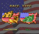 Full Throttle: All-American Racing SNES Choosing the race type