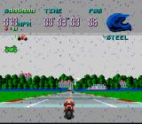 Full Throttle: All-American Racing SNES It rains...