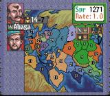 Genghis Khan II: Clan of the Gray Wolf SNES An attempt of diplomacy