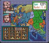 Genghis Khan II: Clan of the Gray Wolf SNES Your troops