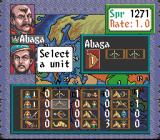 Genghis Khan II: Clan of the Gray Wolf SNES Preparing for the war
