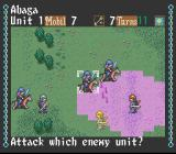 Genghis Khan II: Clan of the Gray Wolf SNES Attacking with a bow