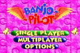 Banjo Pilot Game Boy Advance Main menu.