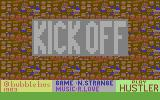 Kick Off Commodore 64 Title screen