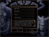 Neverwinter Nights Windows Multiplayer - Create a New Account screen