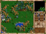 Heroes of Might and Magic II: The Succession Wars Windows Need more action points for return to the castle.