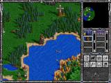Heroes of Might and Magic II: The Succession Wars Windows Visiting the Observation Tower.
