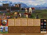Heroes of Might and Magic II: The Succession Wars Windows Knight's castle.