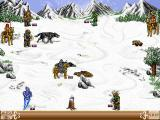 Heroes of Might and Magic II: The Succession Wars Windows Battles in the north.