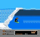 Town & Country Surf Designs: Wood & Water Rage NES Kool Kat surfing!