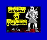 Soldier of Fortune ZX Spectrum Loading screen
