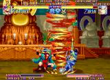 Kabuki Klash Neo Geo Kabuki launches a furious tornado in Ziria, that blocks immediately.