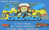 Badlands Atari ST Title screen