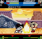 SNK vs. Capcom: The Match of the Millennium Neo Geo Pocket Color Haohmaru's Earthquake Slice makes the ground (and the adversary) shake violently! :-D