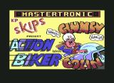 Action Biker Commodore 64 Loading screen 1