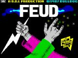 Feud ZX Spectrum Loading screen
