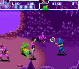 Teenage Mutant Ninja Turtles: Turtles in Time SNES The Foot Soldiers cause trouble even at B.C. 2 500 000 000