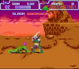 Teenage Mutant Ninja Turtles: Turtles in Time SNES This boss blocks most of your standard attacks