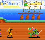 Teenage Mutant Ninja Turtles: Turtles in Time SNES The Yellow foot Soldiers can get really annoying