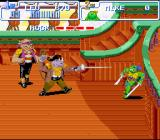 Teenage Mutant Ninja Turtles: Turtles in Time SNES Naturally, Rocksteady an Bebop also make an appearance