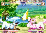 Kabuki Klash Neo Geo Beyond her magical abilities, Kinu is great in the corporal ones too.