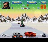 Lamborghini: American Challenge SNES Before facing a snowed track, it's recommendable to make a good tire upgrade in the car.