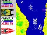 Pro Powerboat Simulator ZX Spectrum Some boat is trying to get in the front of me