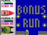 Pro Powerboat Simulator ZX Spectrum Another bonus run is just about to start