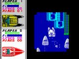 Pro Powerboat Simulator ZX Spectrum Only limited view is available in this night stage