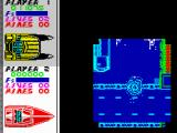 Pro Powerboat Simulator ZX Spectrum My unsuccessful jump ended in big explosion