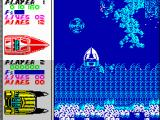Pro Powerboat Simulator ZX Spectrum Watch out for single or grouped maelstroms