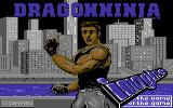 Bad Dudes Commodore 64 Loading Screen