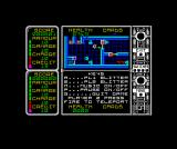 Icarus ZX Spectrum Note the arrows working like an escalator system