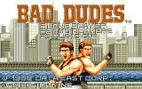 Bad Dudes Amiga Title (another version)