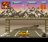 Lamborghini: American Challenge SNES Completing the race.