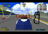 Virtua Racing Deluxe SEGA 32X Race Finished – Car Close-Up
