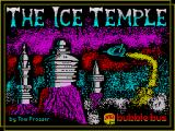 The Ice Temple ZX Spectrum Loading screen