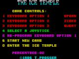 The Ice Temple ZX Spectrum Select your controls