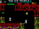 The Ice Temple ZX Spectrum There are lots of flying nastys to shoot or avoid