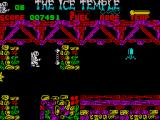 The Ice Temple ZX Spectrum What could this be on the wall