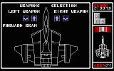 Silpheed TRS-80 CoCo Choose your weapons at the beginning of each level