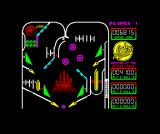 Advanced Pinball Simulator ZX Spectrum Down the ramp