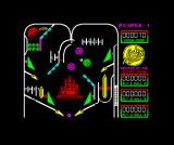 Advanced Pinball Simulator ZX Spectrum Activated the bumper