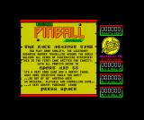 Advanced Pinball Simulator ZX Spectrum One of the promos for other Codemasters games