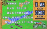 Motorbike Madness Atari ST Game over