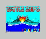 Battleship ZX Spectrum Loading screen