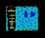 Battleship ZX Spectrum Bound to get the diagonal-angled one